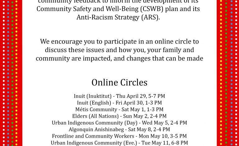 City of Ottawa Online Circles